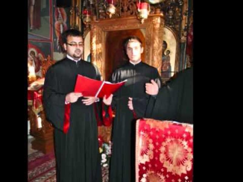 Colinda din inima: DIN CER SENIN - Corul Axis, de la Manastirea Sihastria Voronei VIDEO
