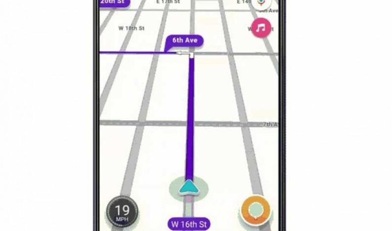 Comenzi vocale Google Assistant pe aplicația de navigație Waze