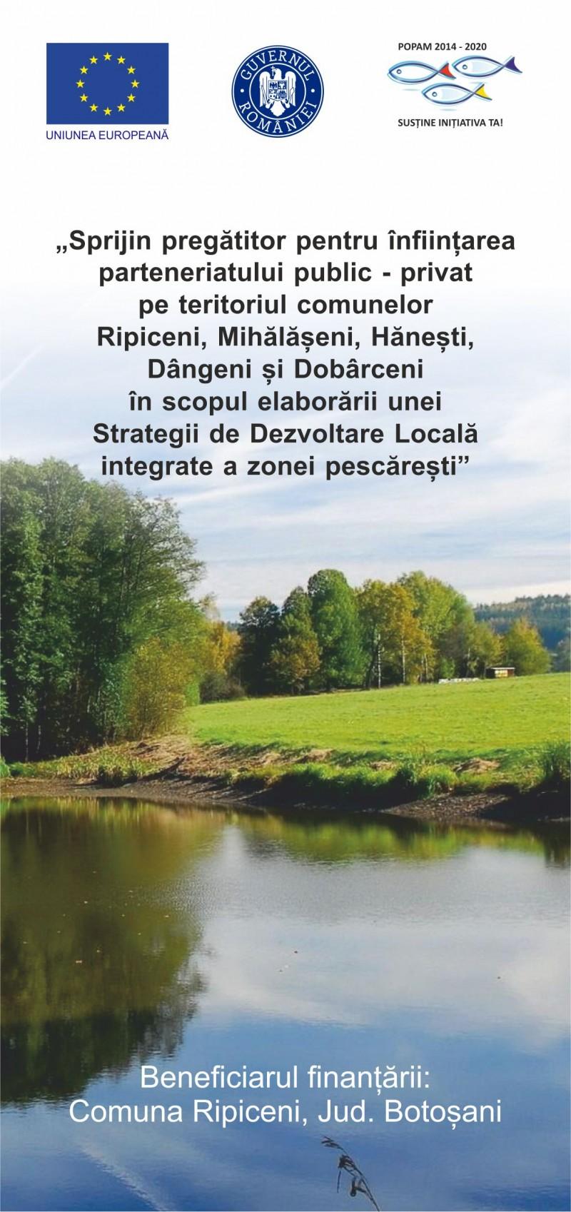 Comuna Ripiceni anunta lansarea activitatilor specifice de animare, informare publica, intalniri de lucru si consultari la nivelul microregiunii deservite