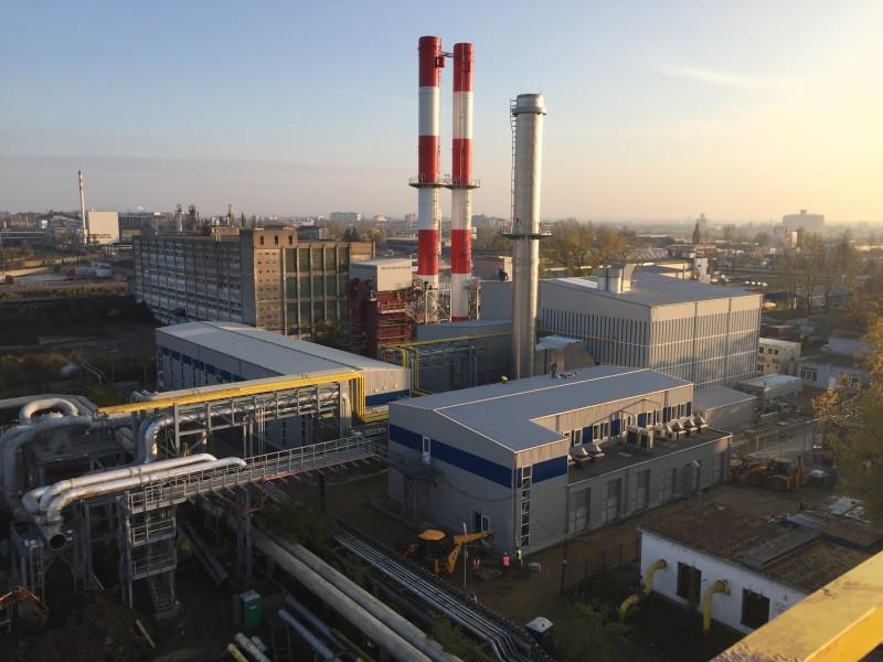 """COMUNICAT DE PRESĂ - A fost inaugurat cel mai mare proiect de termoficare din România din ultimii 26 de ani: """"Implementare proiect la sursă CET Oradea"""""""