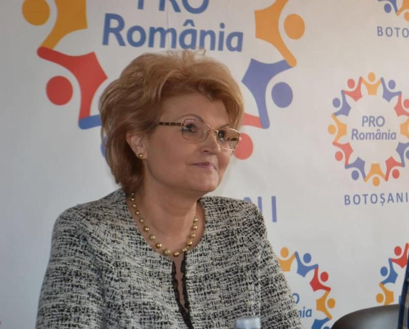 Comunicat de presă Deputat Pro România Mihaela Huncă: Pro România Botoșani bagă în corzi organizația județeană PSD!