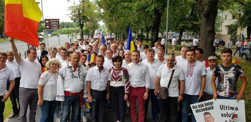 """Comunicat - Doina Federovici-președinte PSD Botoșani: """"Le mulțumesc tuturor botoșănenilor care au participat la mitingul de la București"""""""