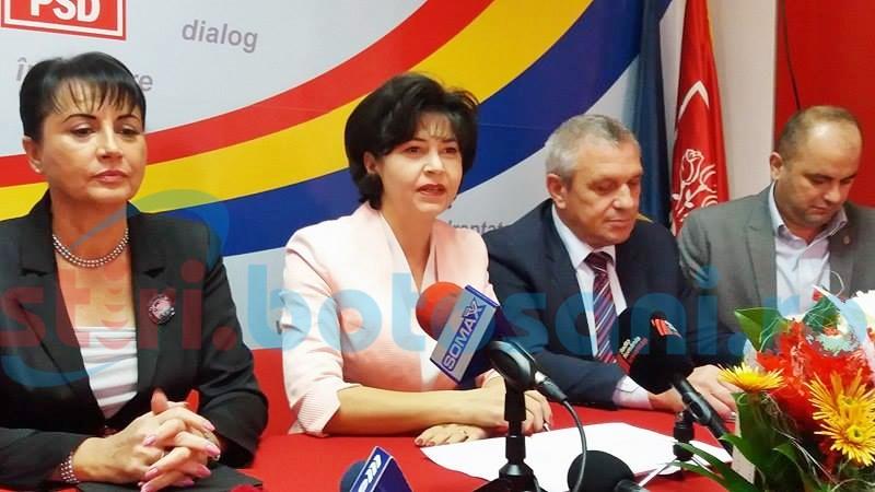 """COMUNICAT Doina Federovici: """"PSD amână alegerile interne în toate organizațiile județene din țară pentru a pregăti scrutinele electorale parțiale din 11 iunie"""