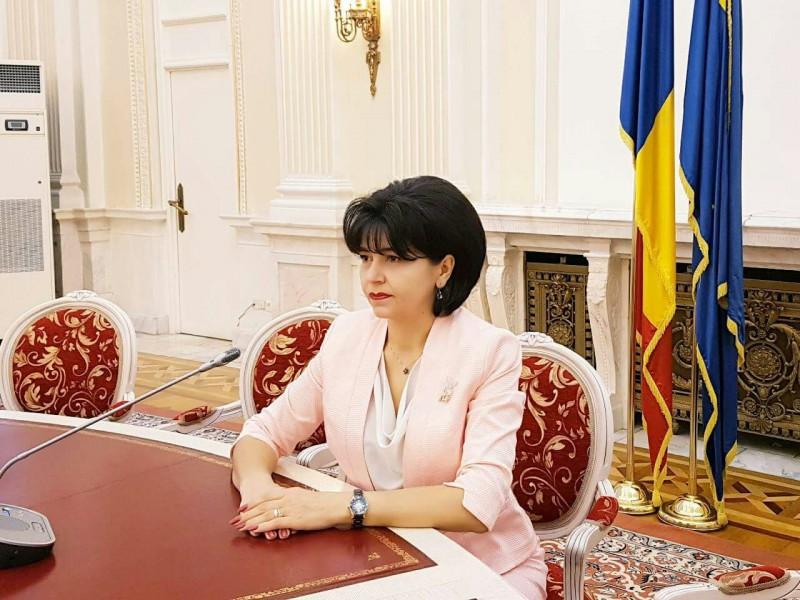 COMUNICAT - Doina Federovici, realeasă în conducerea Senatului României