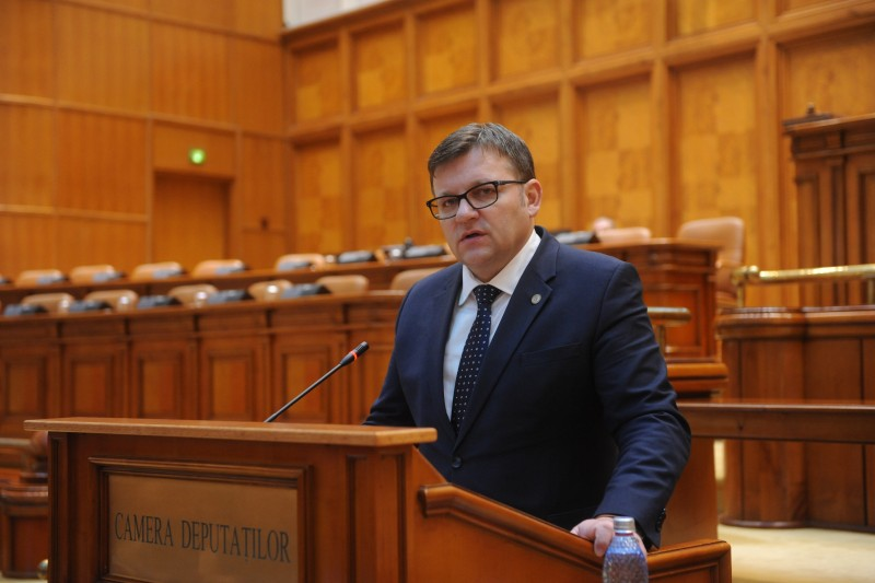 """Comunicat - Marius Budăi: """"Antreprenorii care au firme vor putea retrage dividendele în fiecare trimestru, nu doar la finalul anului fiscal"""""""