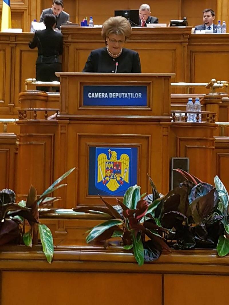 """COMUNICAT - Mihaela Huncă: """"Guvernul PSD a majorat cu 700 lei finanțarea cheltuielilor anuale pentru pregătirea fiecărui elev din România"""""""