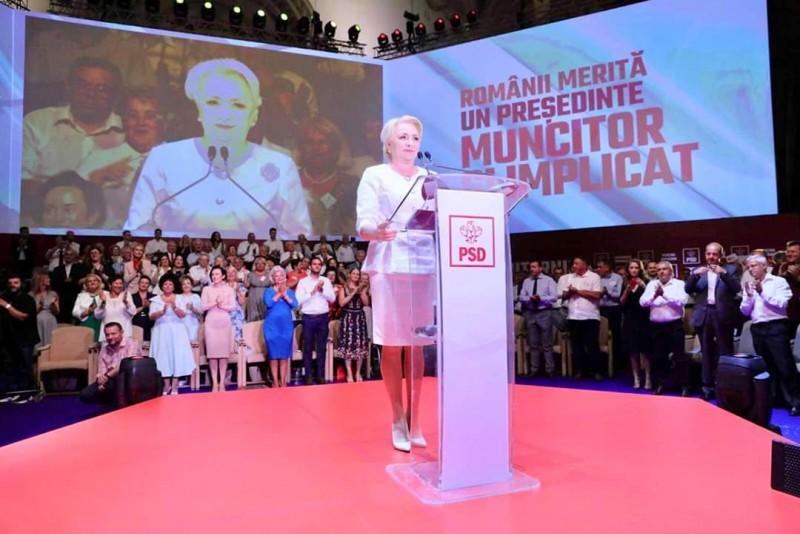 """Comunicat PSD Botoșani: """"România trebuie condusă dintre oameni, împreună cu ei, alături de ei"""", le-a spus Viorica Dăncilă delegaților de la Congres, care i-au acordat în unanimitate votul pentru candidatura la alegerile prezidențiale."""