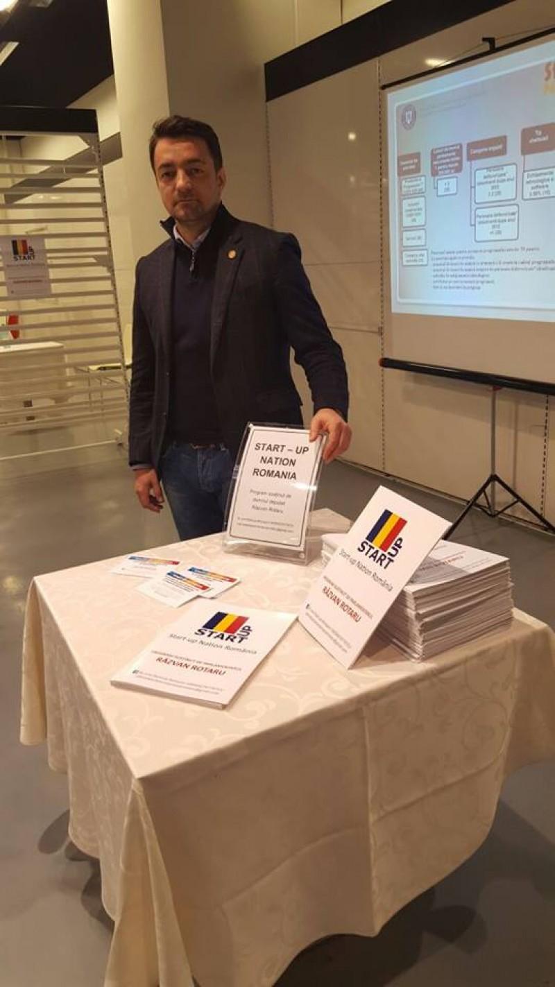 """COMUNICAT Răzvan Rotaru: """"Efectul măsurilor PSD: după primele patru luni a crescut semnificativ numărul de companii nou înființate"""""""