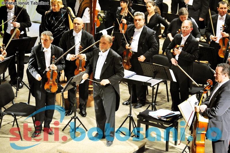 Concert simfonic gratuit, la Filarmonica Botoșani. VEZI cui se adresează!
