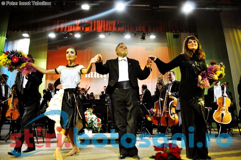 Concertul de Anul Nou al Filarmonicii Botosani: Aplauze, discurs-surpriza si un nou inceput! FOTO,VIDEO