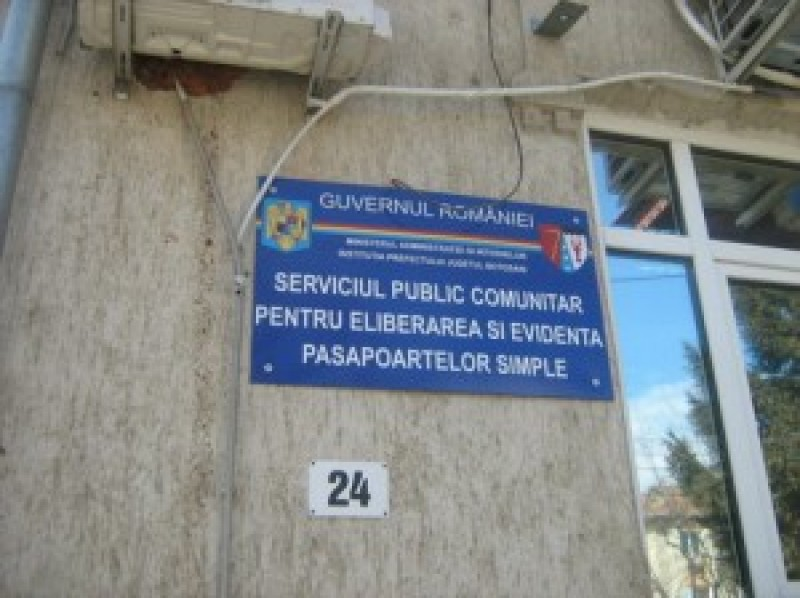 Concurență mare pentru postul scos la concurs la Serviciul Pașapoarte