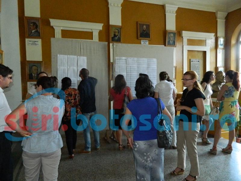 Concurs de titularizare cu zeci de absenți la Botoșani. Alți candidați s-au retras din competiție!