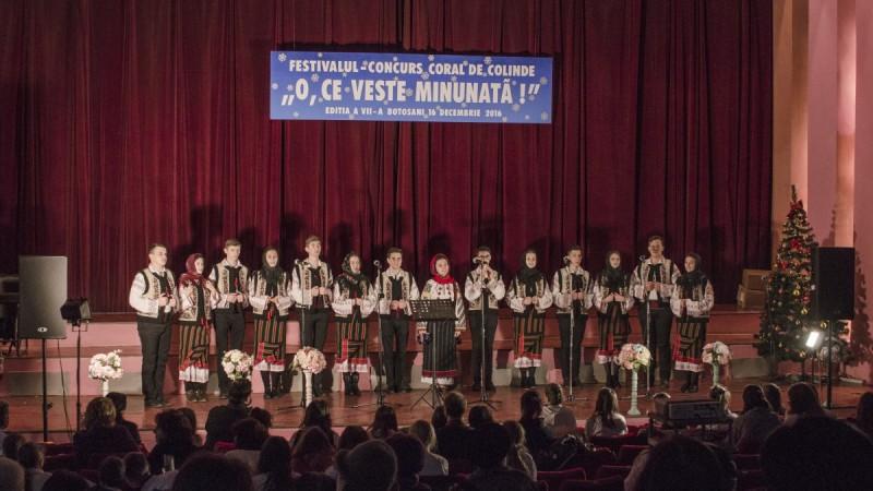 """Concursul Coral """"O, ce veste minunată"""", duminică, la Botoșani!"""