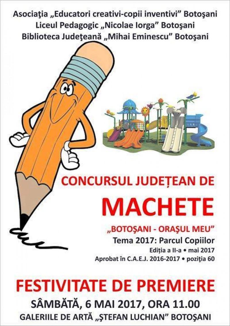 """Concursul Judeţean """"Botoşani - oraşul meu"""", la Galeriile de Artă """"Ştefan Luchian""""!"""