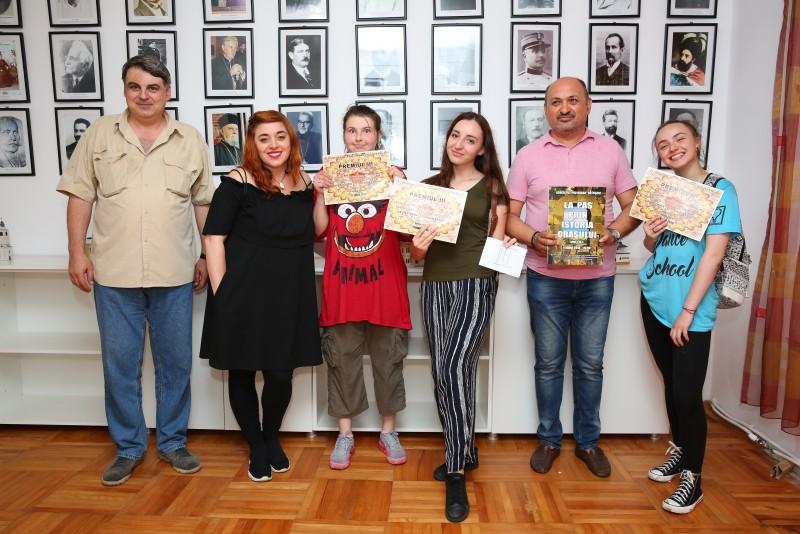 """Concursul """"La pas prin istoria orașului"""", la a treia ediție! FOTO"""