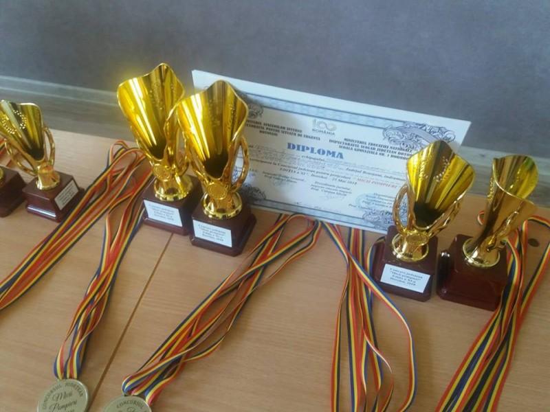 """Concursul """"Micii Pompieri"""" și-a desemnat câștigătorii! - FOTO"""