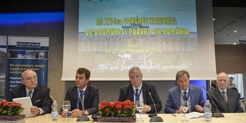 Congresul Național de Drumuri de la Iași s-a terminat cu o vizită de lucru pe drumul Târgu-Frumos - Botoșani