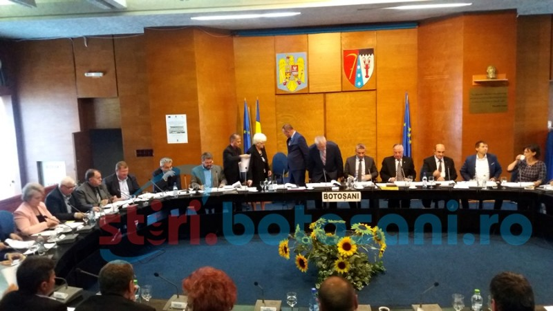 Consilier judeţean validat în şedinţa ordinară a CJ