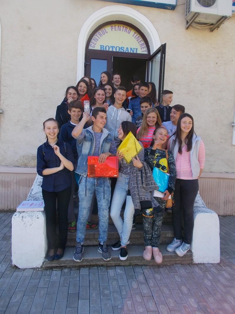 Consiliere în carieră pentru tinerii din Blândești! FOTO