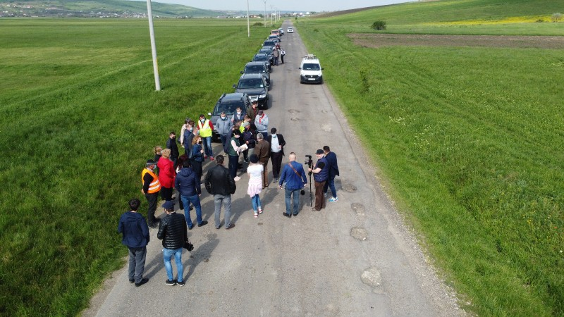 Contractul pentru Lotul I și III ale Drumului Strategic au fost semnate