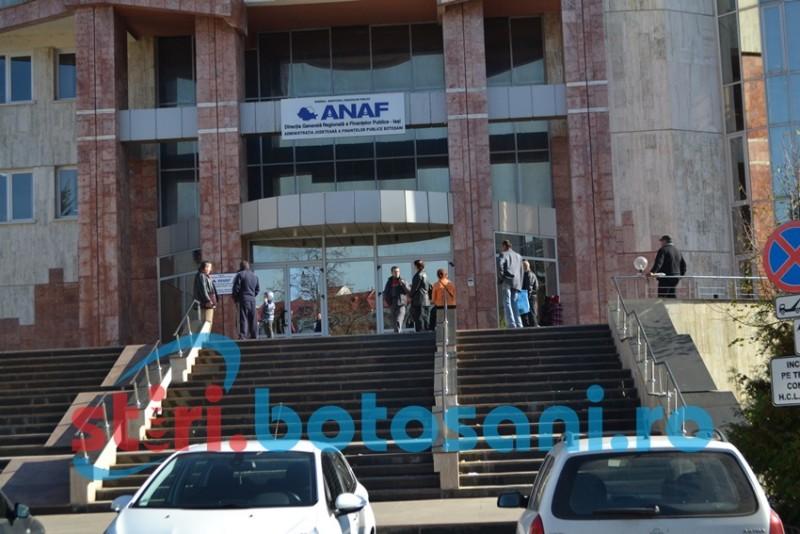 Contribuabilii persoane juridice din Botoșani, invitaţi la sediile ANAF pentru a fi informaţi cu privire la schemele de ajutor de stat