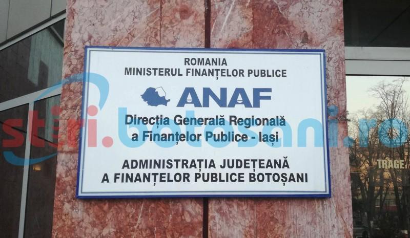 Contribuabilii persoane juridice, invitaţi la sediul ANAF Botoșani pentru a fi informaţi despre schemele de ajutor de stat