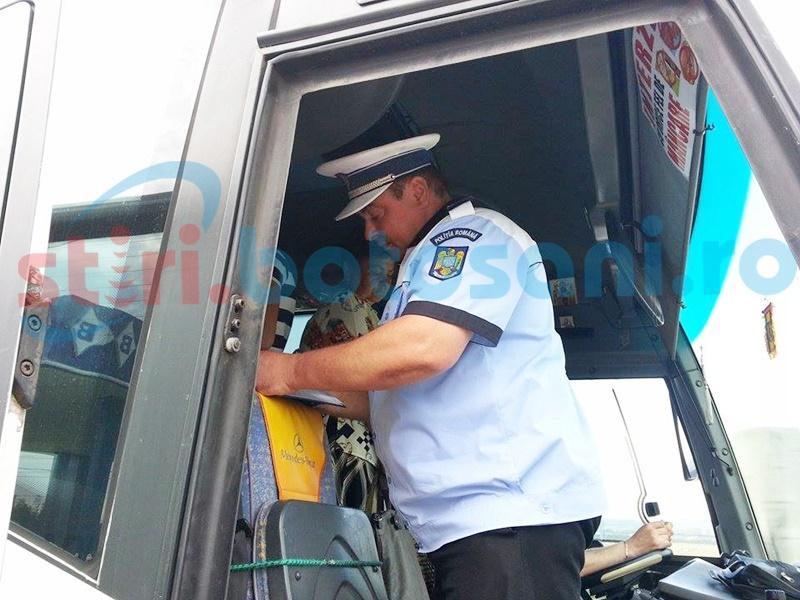 Controale cerute la transportatorii din Botoșani care efectuează curse pe distanțe mari
