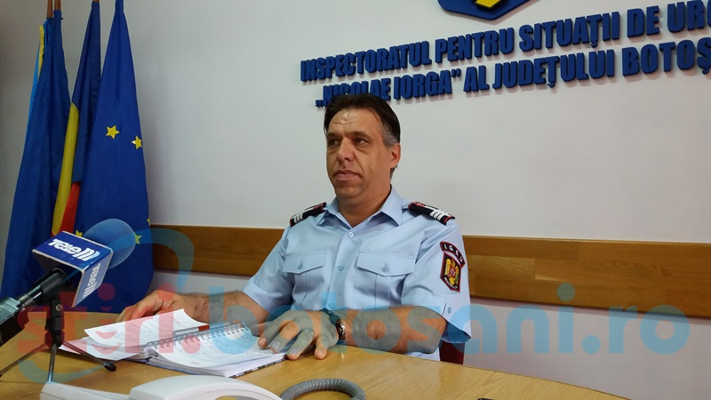 Controale pentru securitatea la incendiu, în județul Botoșani!