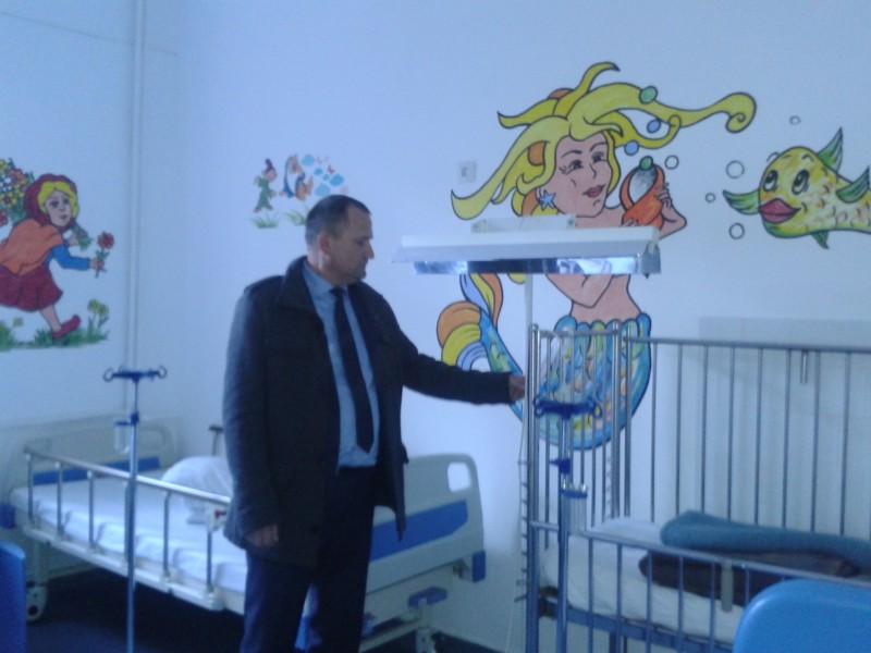 Control inopinat pe mai multe secții ale Spitalului Mavromati, după ce pacienții s-au plâns că stau în frig