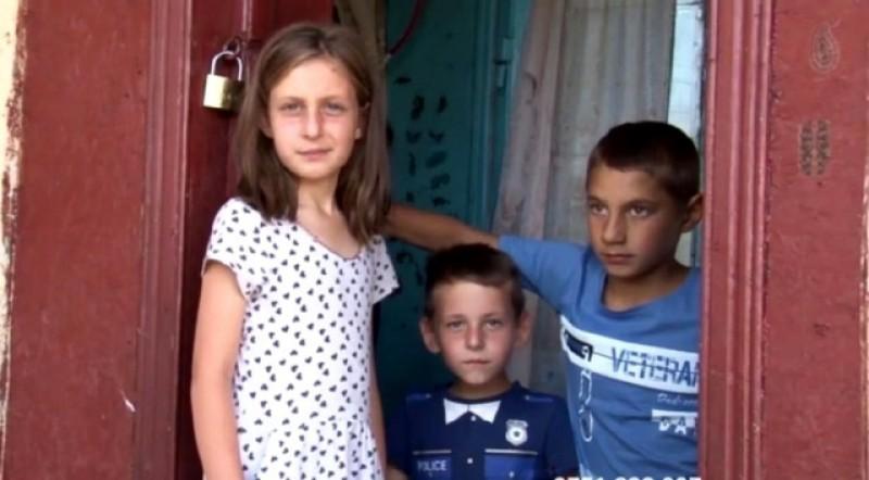 Copii fără copilărie. Drama unei familii distruse de bătăile unui tată monstru