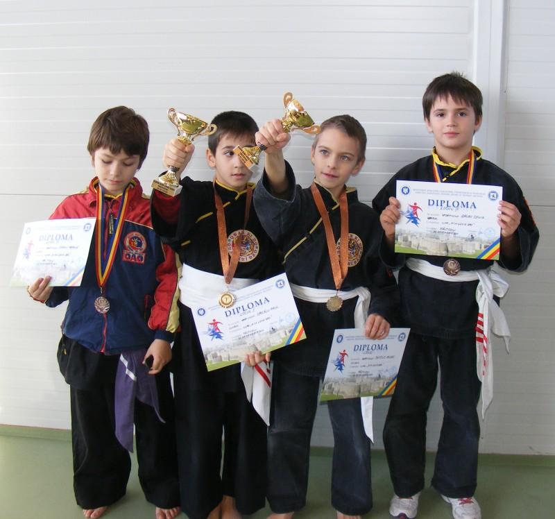 Copiii de la Clubul DAO Botosani, premiati la Falticeni