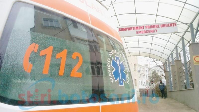 Copil adus la spital în comă după ce a fost victima unui accident rutier la Truşeşti! FOTO