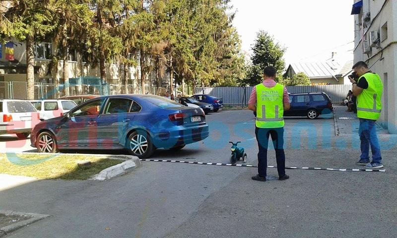 Copil lovit de o mașină, în Parcul Tineretului! FOTO