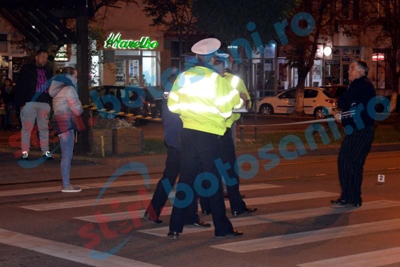 Copil lovit pe trecerea de pietoni de o mașină condusă de o tânără! FOTO