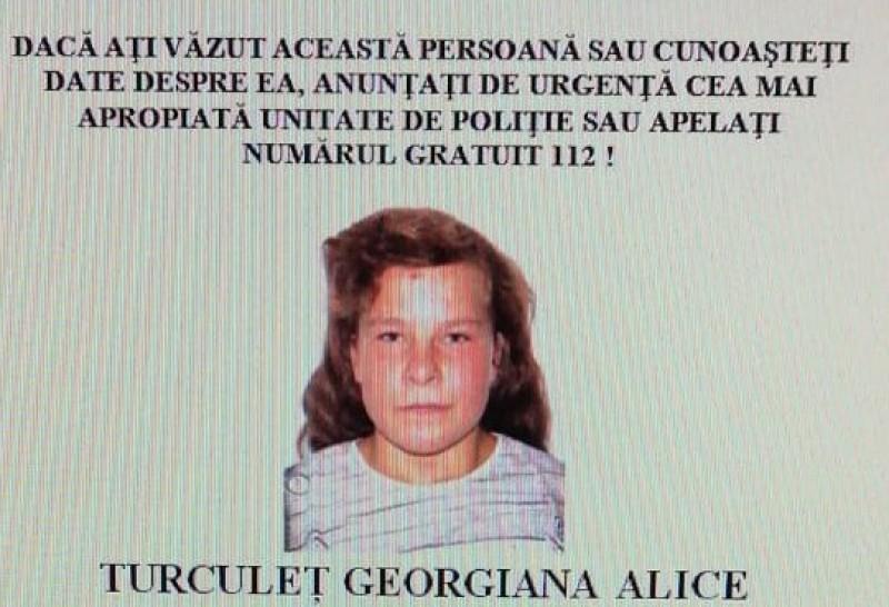 Copilă de 15 ani din județ dispărută. Polițiștii fac apel la cunoștința populației