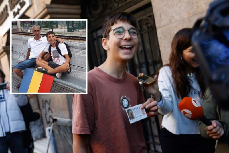 """Copilul unui botoșănean a câștigat, în Spania, 200.000 de euro la Loteria Copiilor: """"Nu știu ce voi face cu banii"""" - VIDEO"""