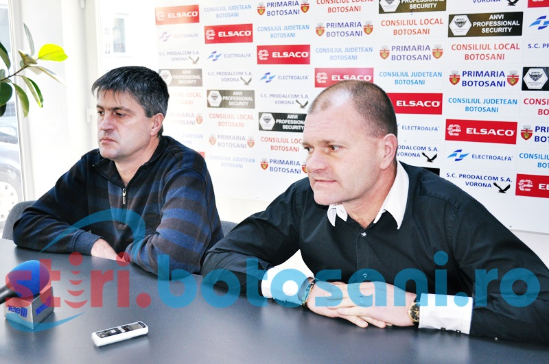 """Cornel Sfaiter, despre Popovici: """"Il sustinem in continuare. E antrenorul nostru de 4 ani"""""""