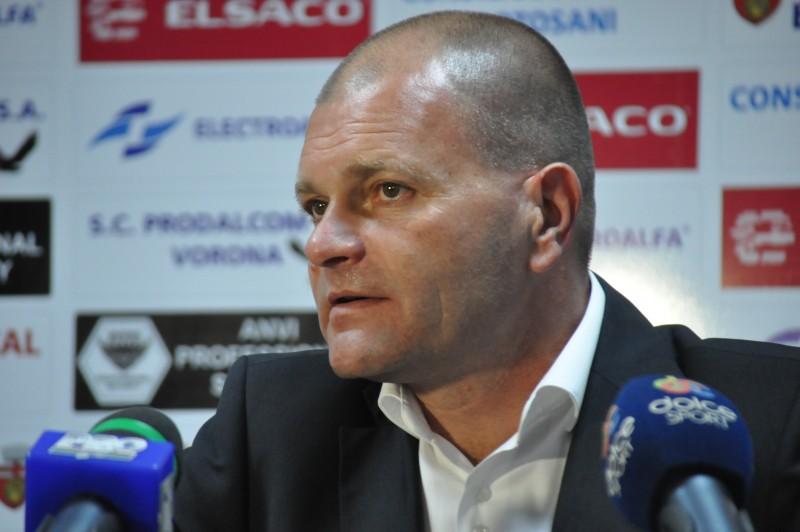 "Cornel Sfaiter: ""Meritam un egal in meciul cu Astra, dar experienta si-a spus cuvantul"""