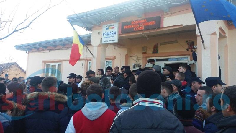 Referendumul pentru schimbarea primarului din Corni bate pasul pe loc
