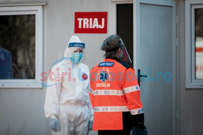 """Coronavirus. Incidență de infectare de 3,83 în municipiul Botoșani, șapte comune în scenariu """"roșu"""""""