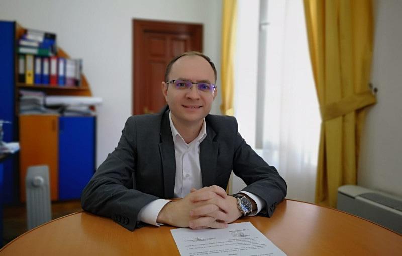 Cosmin Andrei, noul primar al municipiului Botoșani