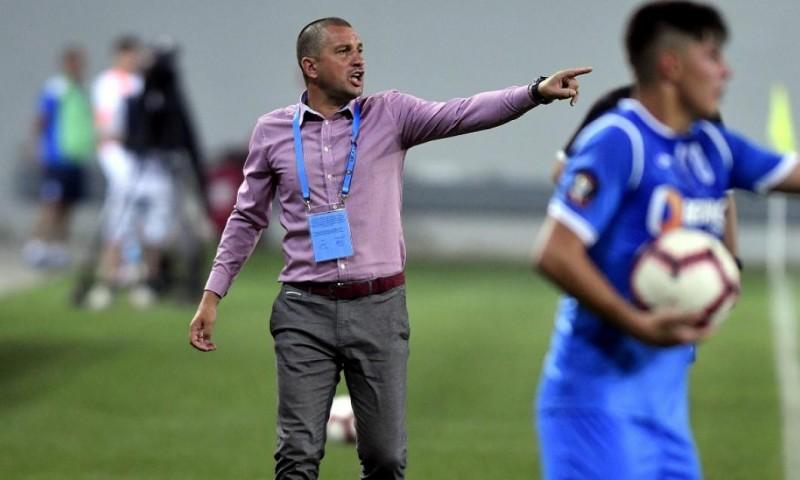 """Costel Enache, convins că echipa sa merita victoria la Craiova. """"Mi-a plăcut atitudinea jucătorilor mei!"""""""