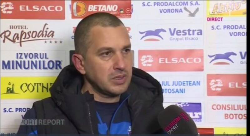 Costel Enache, după egalul cu Juventus: Suntem supăraţi, mă simt chiar frustrat