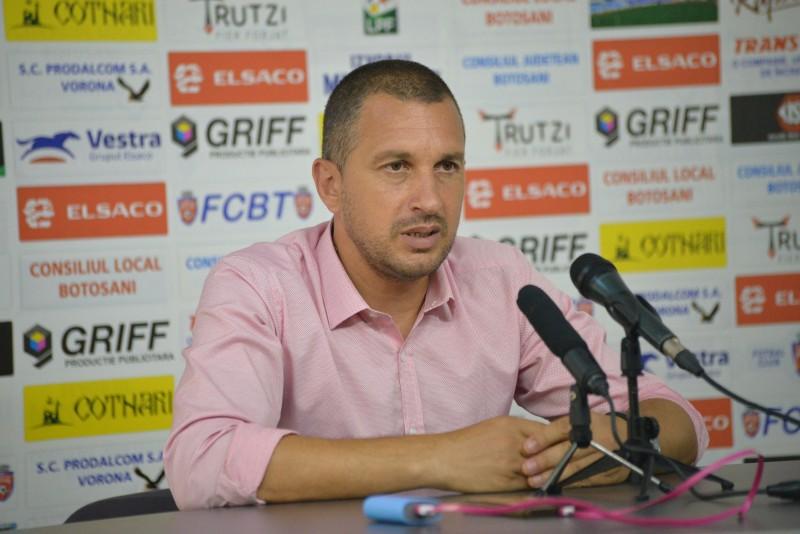 Costel Enache, înainte de primul cantonament: În trei săptămâni jucăm în campionat și trebuie să fim foarte bine pregătiți
