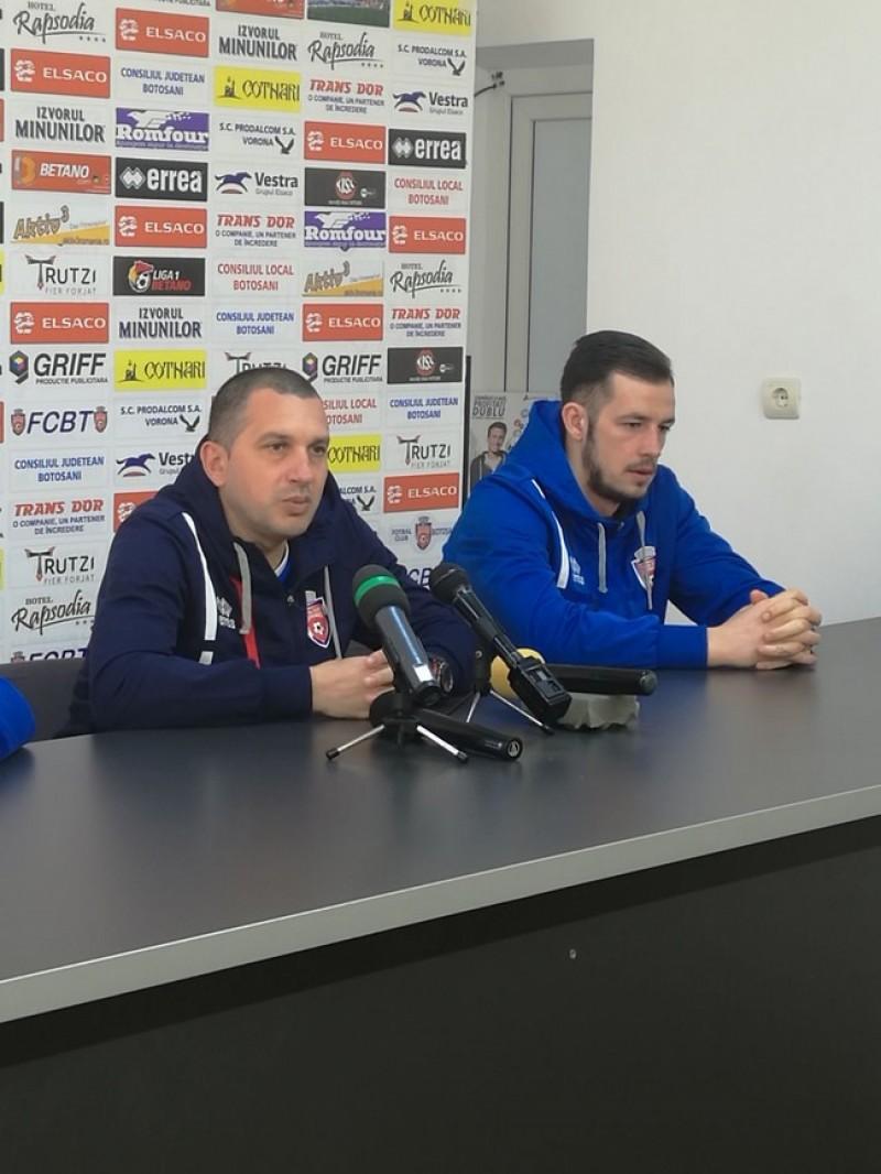 Costel Enache, înaintea meciului cu CSMS Iaşi din Cupă: Din păcate am ajuns să spunem că va fi un meci cât un sezon