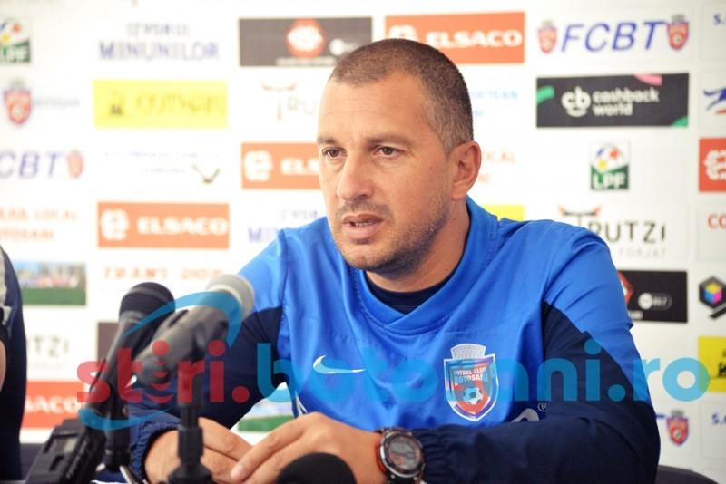 """Costel Enache, inaintea meciului cu Dinamo: """"Daca mentinem atitudinea din meciul trecut, putem face un joc bun"""""""