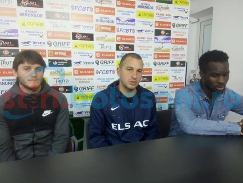 Costel Enache, înaintea meciului de la Chiajna: Consecvenţa a devenit unul dintre cele mai importante lucruri în vestiarul nostru