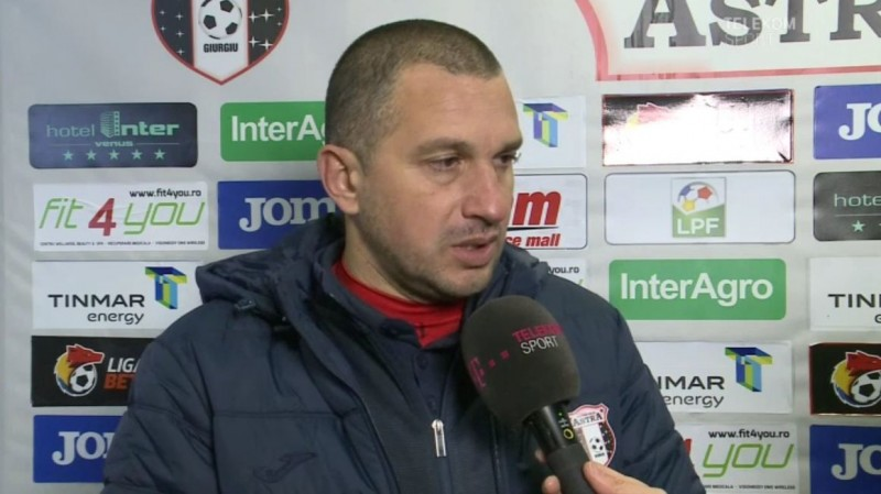 """Costel Enache, nemulţumit de egalul cu Botoşani: """"Trebuie să tindem spre mai mult, spre mai bine"""""""