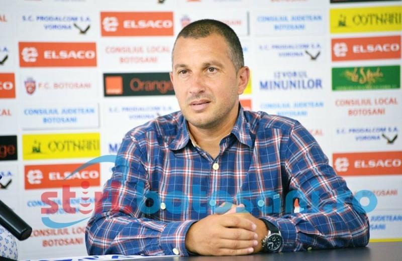 """Costel Enache: """"Nu suntem chiar în măsura de a spune că mergem la FCSB să câştigăm"""""""