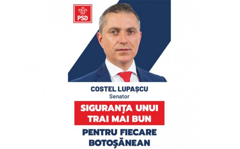 """Costel Lupașcu, deputat în Comisia pentru Sănătate: """"PSD a pregătit un plan profesionist de acțiune pentru combaterea COVID - 19 care poate fi aplicat din prima zi a guvernării!"""""""